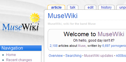 Musewiki