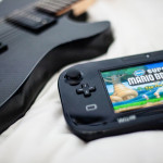 Carbon Manson Guitar and Wii U
