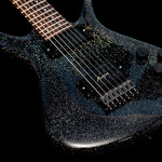 CE-7 custom black glitter